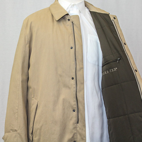 Schneiders Tan Long Canvas Coat XL