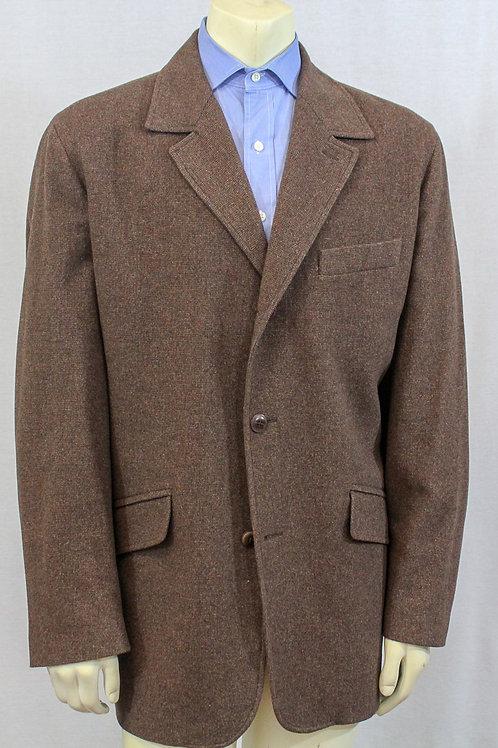 Ermenegildo Zegna Cashmere Brown Outerwear XL