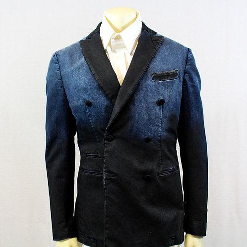 Aglini Double Breasted Sport Coat Size 42 R