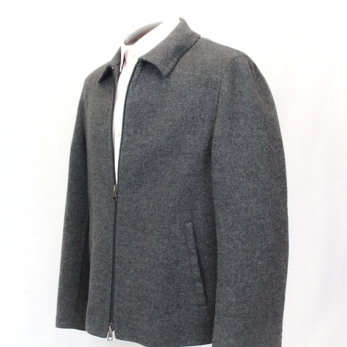 Neil Barrett Charcoal Wool Cashmere Jacket