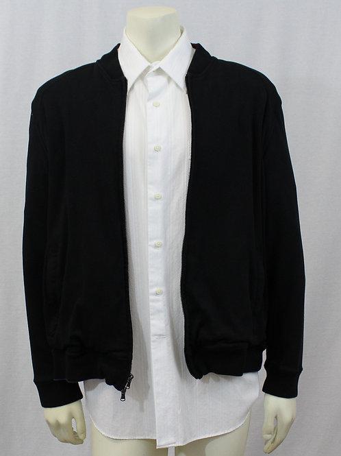 Robert Graham Black Jacket Zip Up Cardigan XL