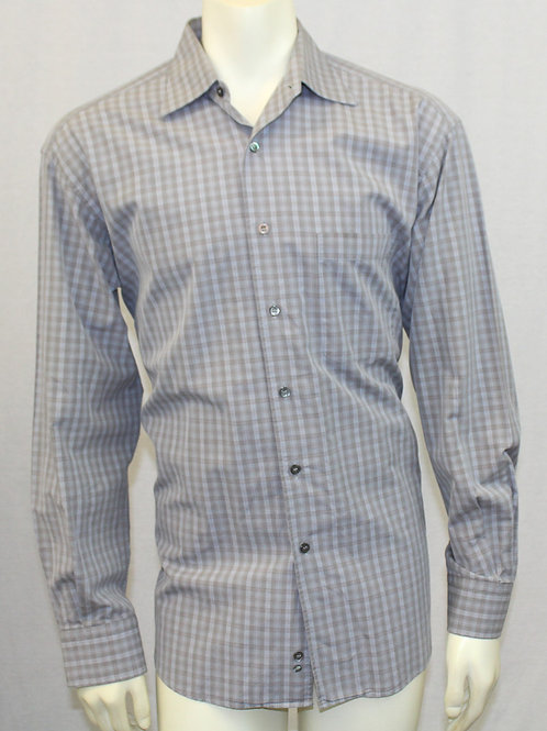 Ermenegildo Zegna Grey Sport Shirt Medium