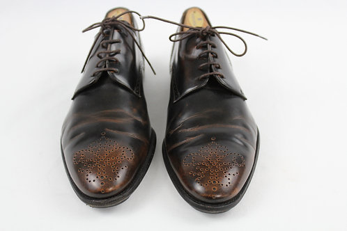 Bally Brown Oxford Shoes 9.5