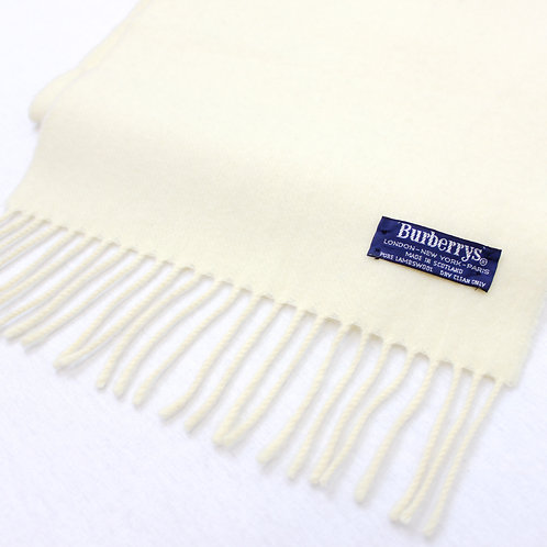 Burberry Cream Scarf