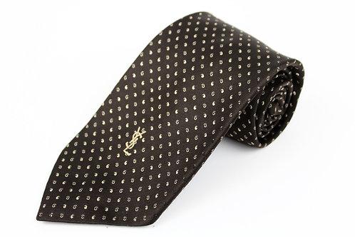 Yves Saint Laurent Brown Tie