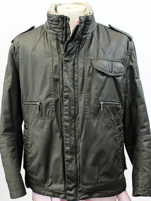 Hugo Boss Fur Lined Coat Medium