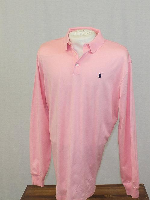 Ralph Lauren Long Sleeve Polo Golf Shirt Large
