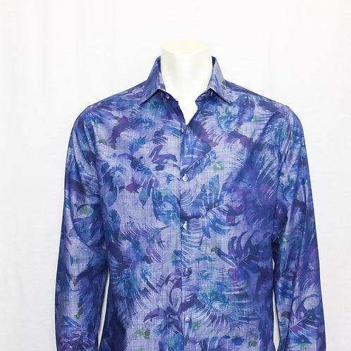 Stone Rose Blue Long Sleeve Shirt