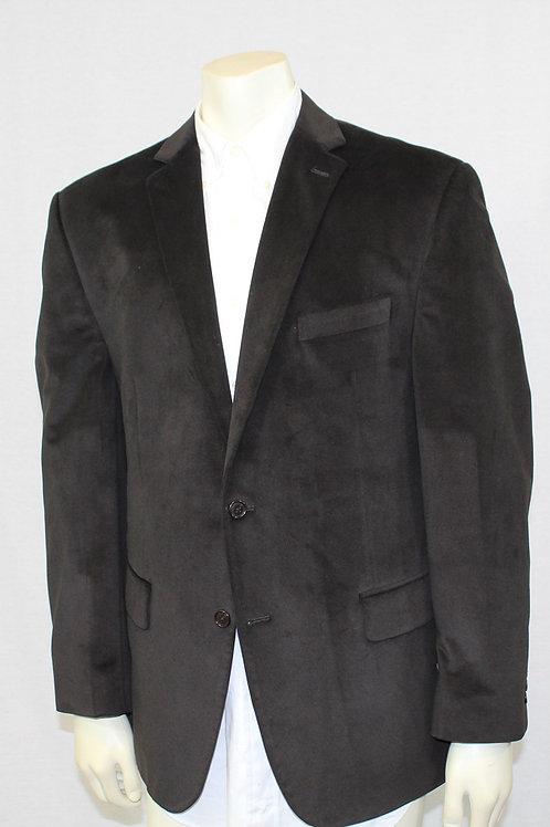 Calvin Klein Velvet Brown Sport Coat 43 Regular
