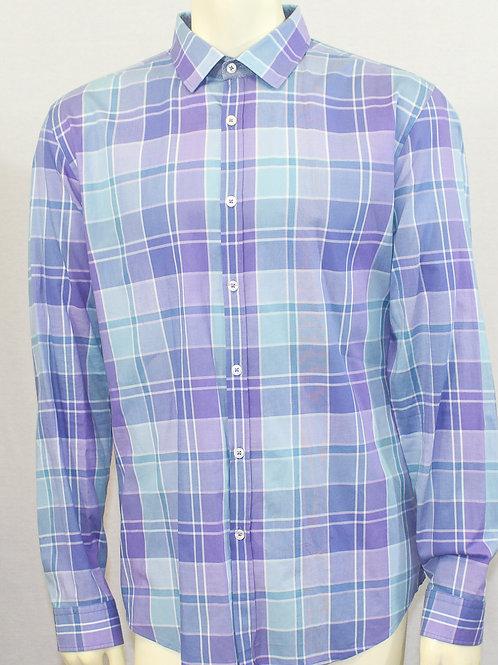Hugo Boss Plaid Dress Shirt XL