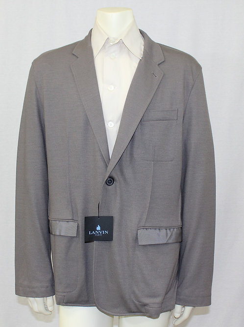 Lanvin Grey Sport Jacket 42 Regular