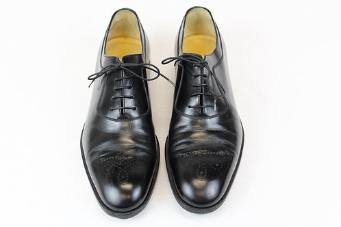 Salvatore Ferragamo Black Oxford Shoes Size 11
