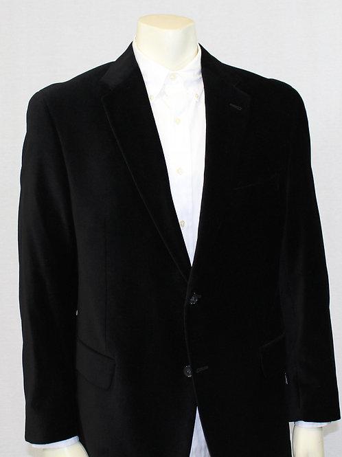 Custom Copley Velvet Black Sport Coat 42 Regular