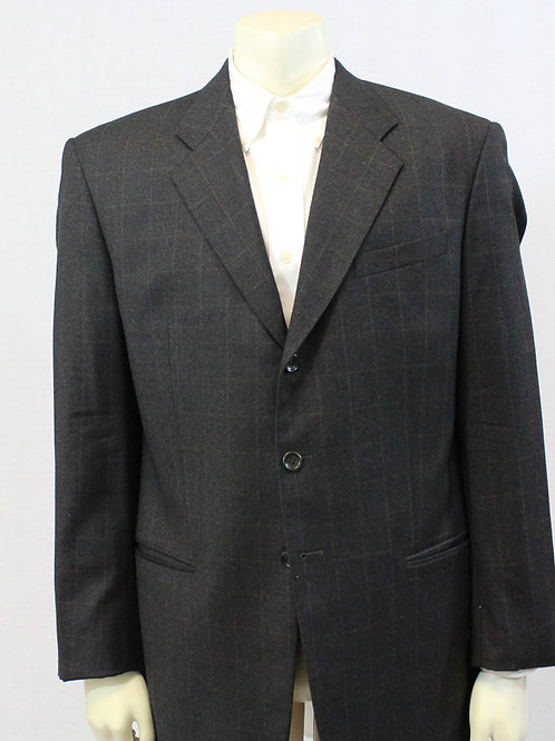 Armani Collezioni Sport Coat 42 Regular Large Check