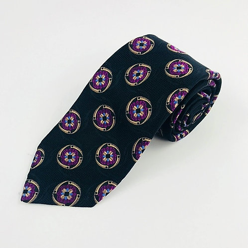 Mark Pendleton Black Silk Tie