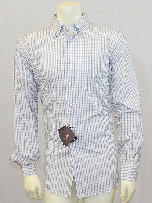 Robert Talbott Classic Estate Dress Shirt Large