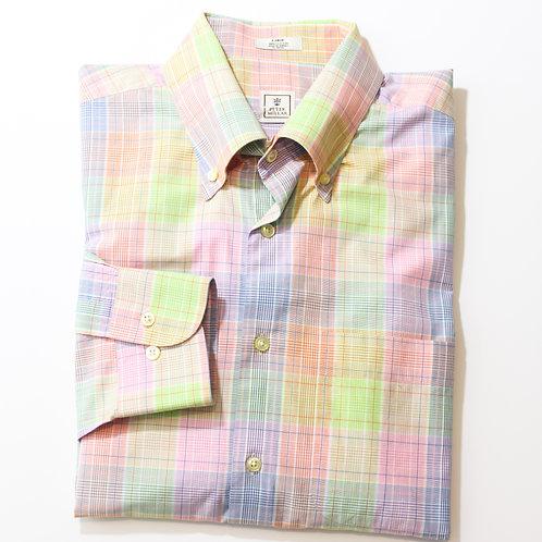 Peter Millar Large Plaid Shirt
