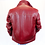 Thumbnail: Hermès Red Lambskin Coat
