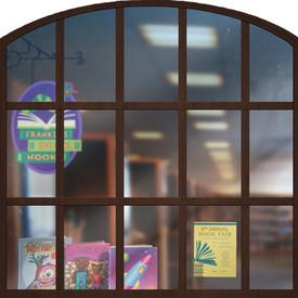Sesame Street Place Window