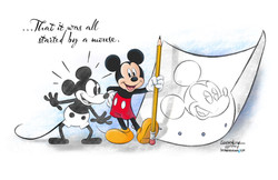 Print for Mickey's 90th Birthday Celebration!