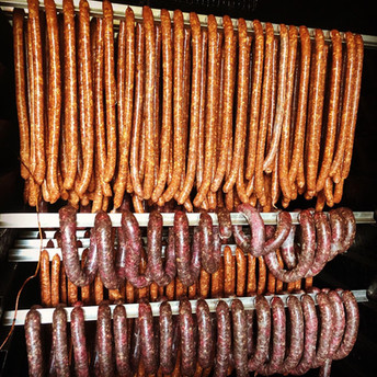 In-House Smoked Sausages