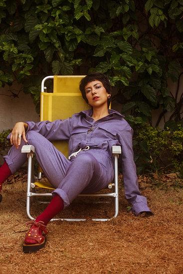 camisa nebulsa púrpura
