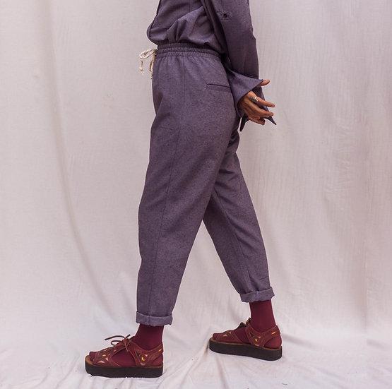 calça eclipse púrpura