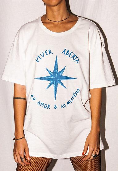 camiseta VIVER ABERTA