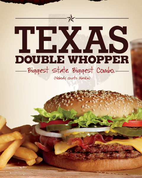 Texas Whopper Ad