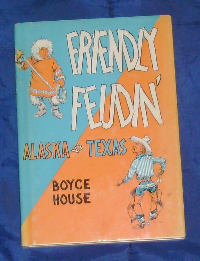 FRIENDLY FEUDIN' book