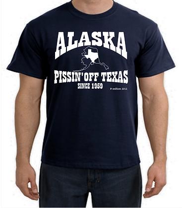ALASKA PISSIN' OFF TEXAS SINCE 1959  Navy
