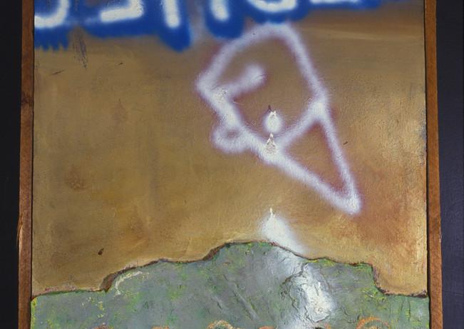 Steve Banks Art Wall Motif Without 2001.