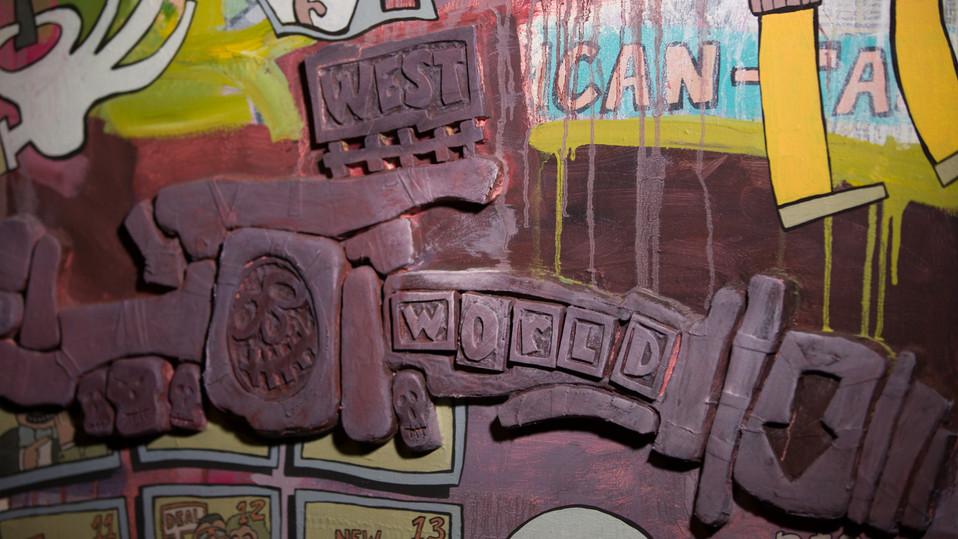 Pop Culture Palimpsest 19          Figge Art Museum Steve Banks Art.jpg