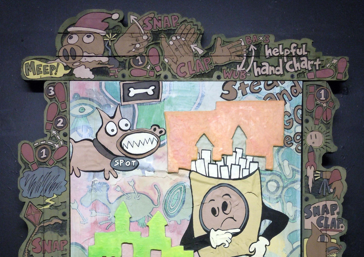 Steve Banks Art Squishy Rumba 2013.jpg