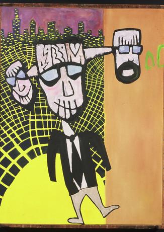 Steve Banks Art The Three Faces of Miste