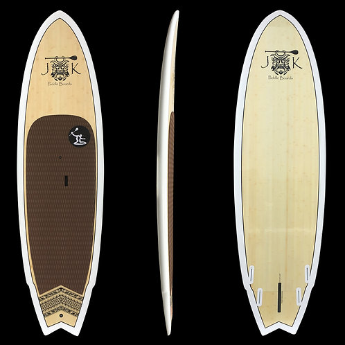 "9' 8"" Rocket Fish Surf SUP Stand Up Paddleboard Surfboard Bamboo! In stores only"