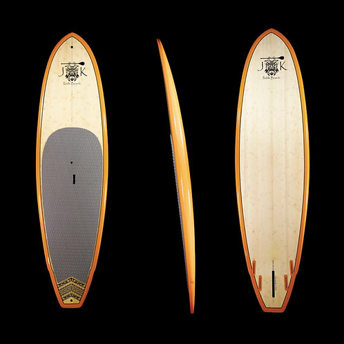 """SALE !! 9'5"""" Big Boy Surf SUP Stand Up Paddleboard Surfboard Bamboo With Bag"""