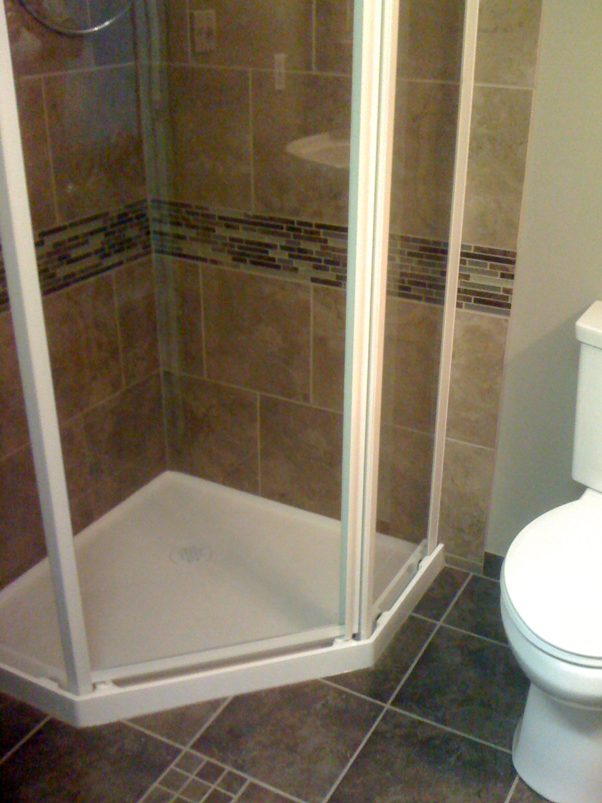 Shower rebuilds