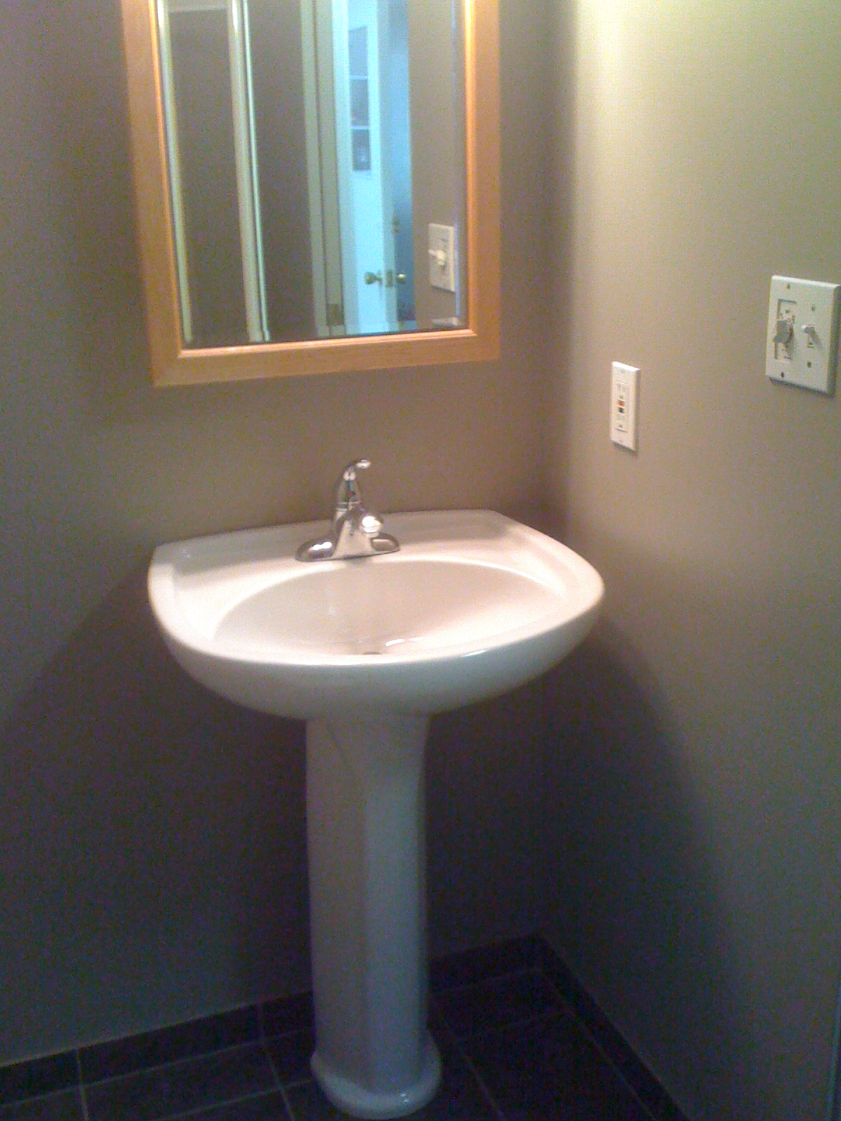 Bathroom vanity job- Coq