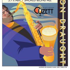 Cuzett's Smokin' Gold On Draught Poster