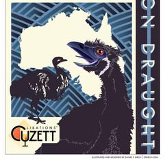 Cuzett's Revenge of the Emu On Draught poster