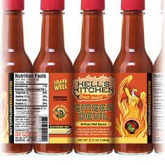 Hell's Kitchen's Ginger Devil