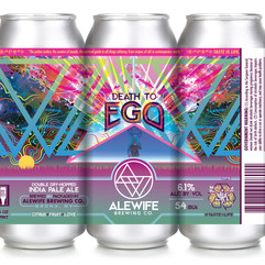 Alewife's Death to Ego: 2X Dry-Hopped  IPA