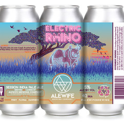 Alewife's Electric Rhino: Session IPA