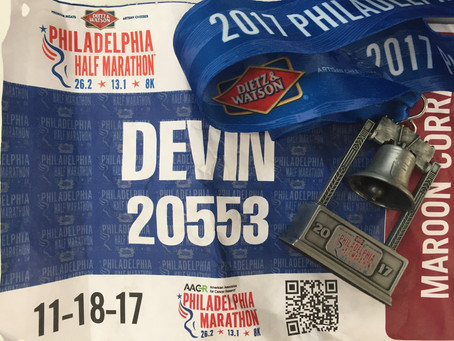Race Review - Philadelphia Half Marathon