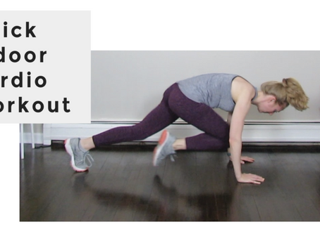 Quarantine Cardio Workout