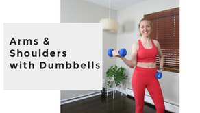 Sleek Arms and Shoulders with Dumbbells