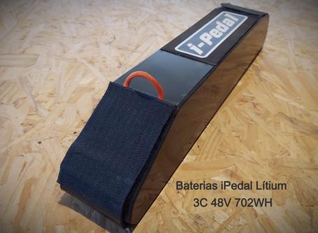 O nascimento das baterias iPedal