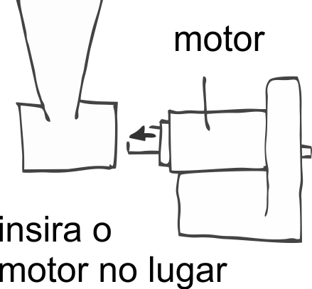 insira o motor