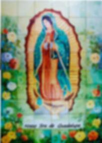 Painel de Azulejos Nossa Senhora de Guadalupe